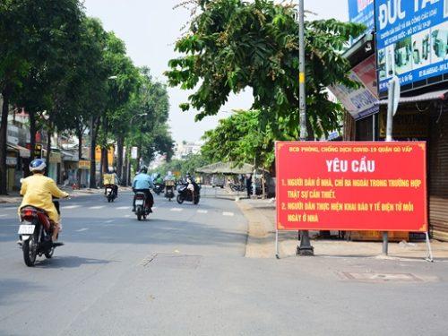 TP Hồ Chí Minh siết chặt hoạt động phòng dịch, tăng cường chỉ thị 16