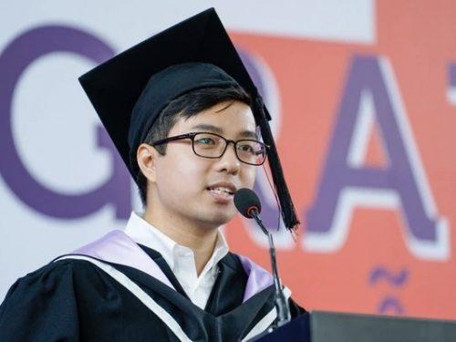 Chàng thủ khoa tốt nghiệp Đại học Rmit với số điểm tuyệt đối cùng phát ngôn gây sốc